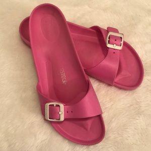 Pink Birkenstock Sandals